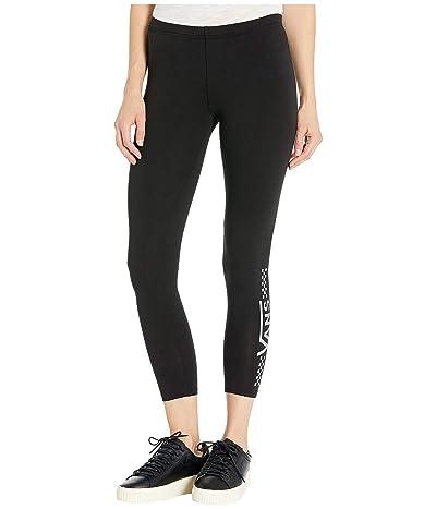 Vans Chalkboard Iridescent Leggings (Black/Iridescent/Black) Women