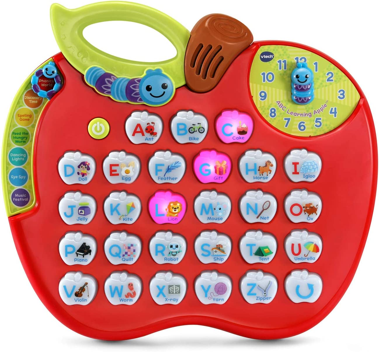 VTech ABC Learning Apple , Red