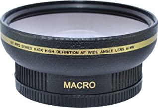 Best 67mm 0.43 x wide angle lens Reviews