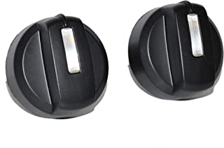 Weber 91332 2PK Control Knobs for Spirit E-210 LP Blk (2009-2012)