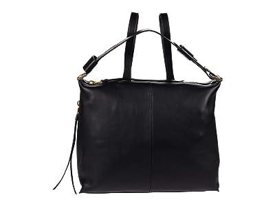 AllSaints Lawrence Backpack (Black) Backpack Bags