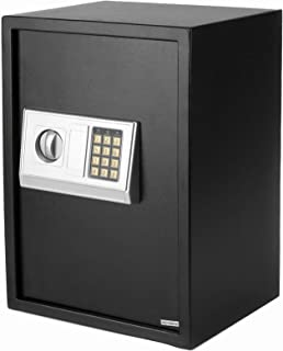 Large Digital Safe Box with Security Keypad Lock, Fireproof and Waterproof Security Safe for Home Office Hotel Business, W...