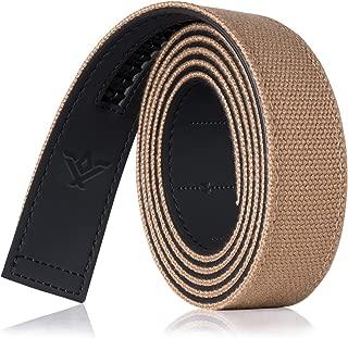 """SlideBelts Canvas Ratchet Belt Strap (1.25"""")"""
