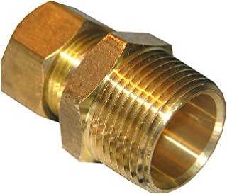 LASCO 17-6869 3/4-Inch Compression by 3/4-Inch Male Pipe Thread Brass Adapter