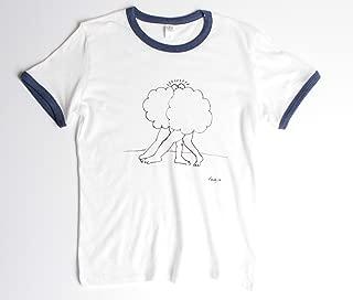 Cloud Buddies 70s style ringer shirt