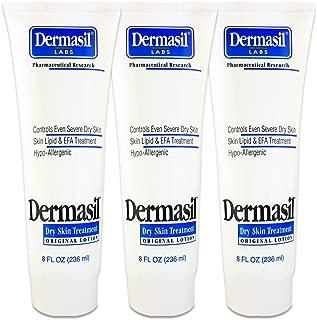 Dermasil Dry Skin Treatment, Original Formula 8 Oz Tube (3 Pack)