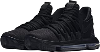 NIKE Zoom KD10 GS Basketball Shoes Kids Youth All Black New 918365-004 - 4