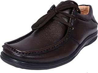 Zoom Men Pure Leather Semi Formal Shoes D-2570