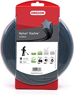 Oregon - Hilo de desbrozadora de estrella Nylium®, 2,4mm, donut de 90m