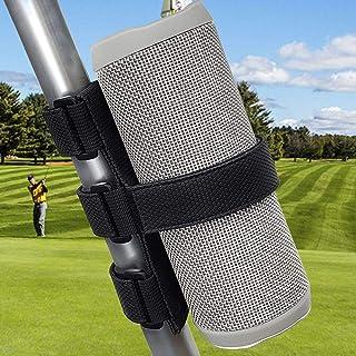 TOOVREN Portable Bluetooth Speaker Mount for Golf Cart Accessories Railing Bike - Wireless Speakers Holder Adjustable Strap for JBL Charge/OontZ Angle/Anker/Doss/AOMAIS/Bose Most Speaker