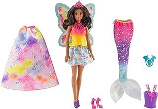 Barbie Dreamtopia Rainbow Cove Fairytale Dress Up Set, Black Hair