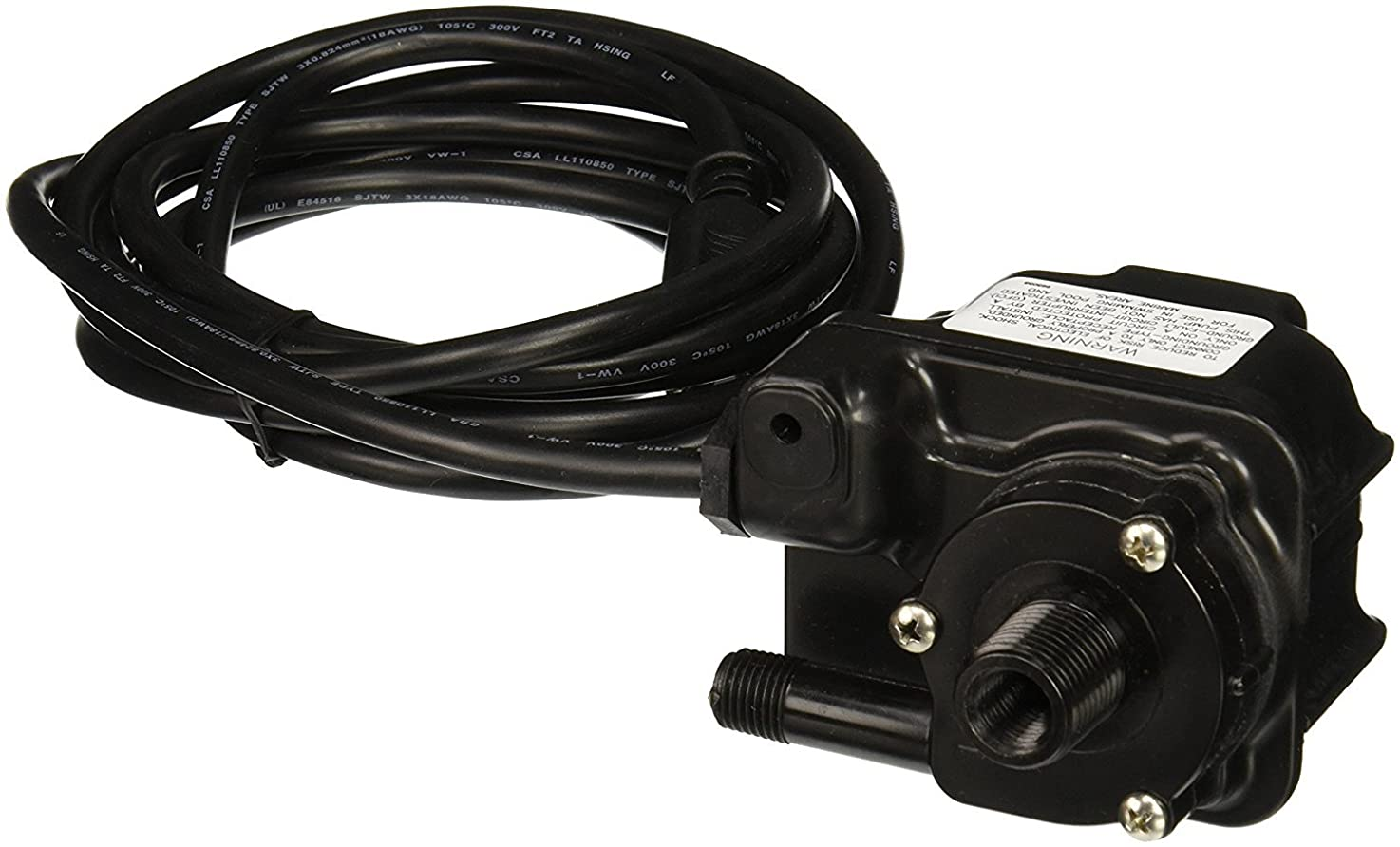 Little Giant 1-EA-42, 170 GPH Dual Purpose Epoxy Encapsulated Pump, 10' Power Cord (518087)