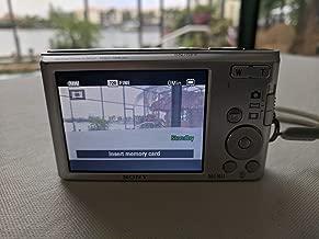 Sony Cybershot DSCW830 20.1MP Digital Camera - Silver