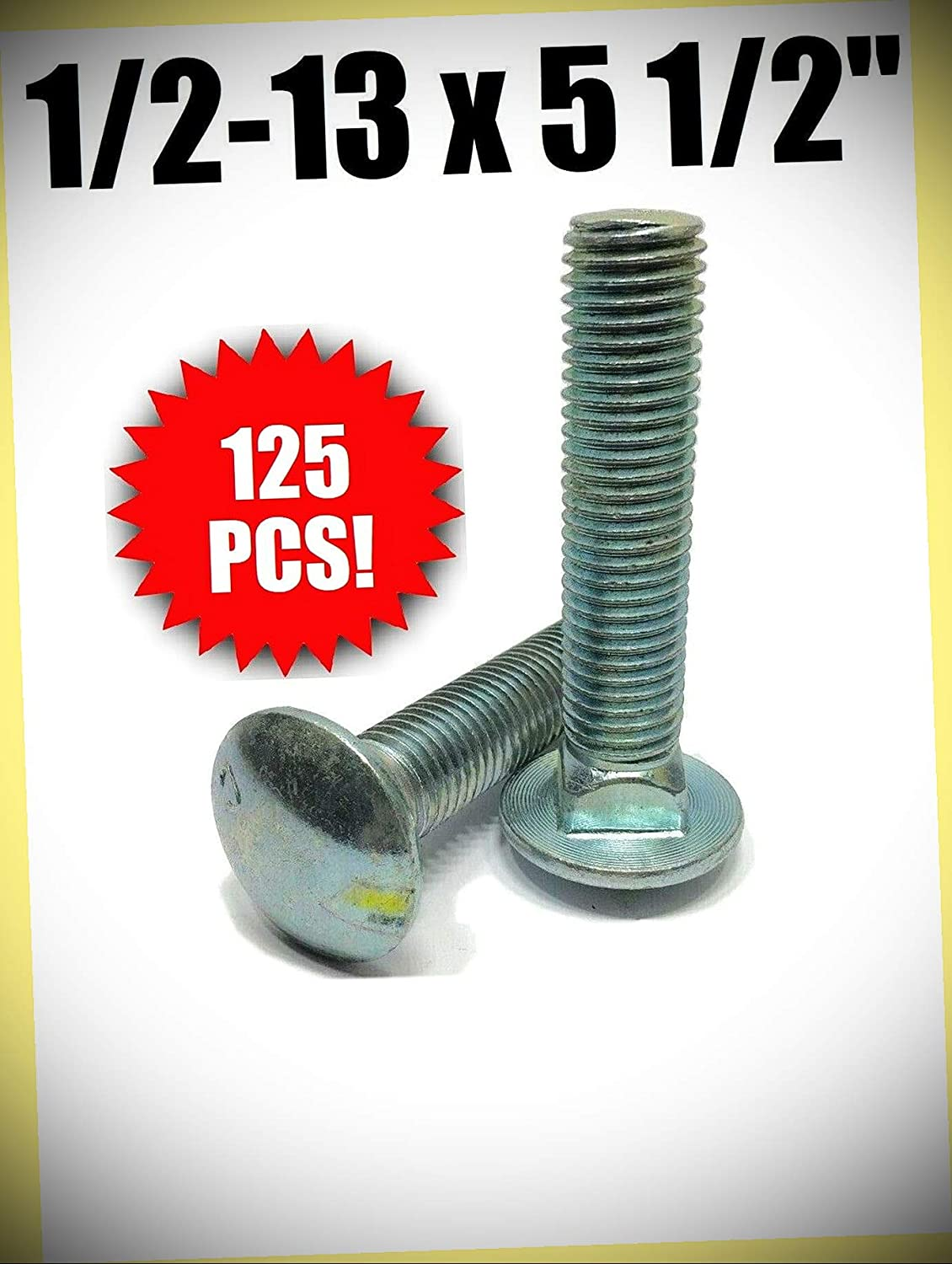Package of 125 pcs 1 2-13 x 2