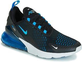 Mens Air Max 270 Running Shoes Black/Photo Blue/Pure Platinum AH8050-019 Size 8.5