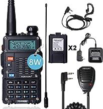 TIDRADIO TD-F9GP 8Watt Ham Radio Handheld Upgraded Version of Baofeng UV-5R Radio Uhf Vhf Radio 2 Way Radio High Power Dua...