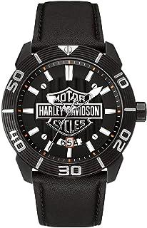 363f2dbde32 Relógio Bulova Harley Davidson Analógico Masculino 78B136 WH30537P