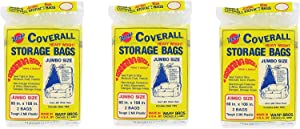 Warp's Storage Bags Banana Bags, Jumbo 60 x 108 in., 6 ct (3/2s)