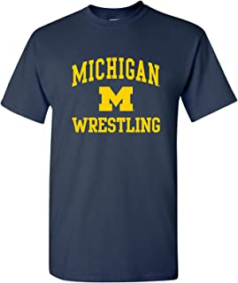NCAA Arch Logo Wrestling, Team Color T Shirt, College, University