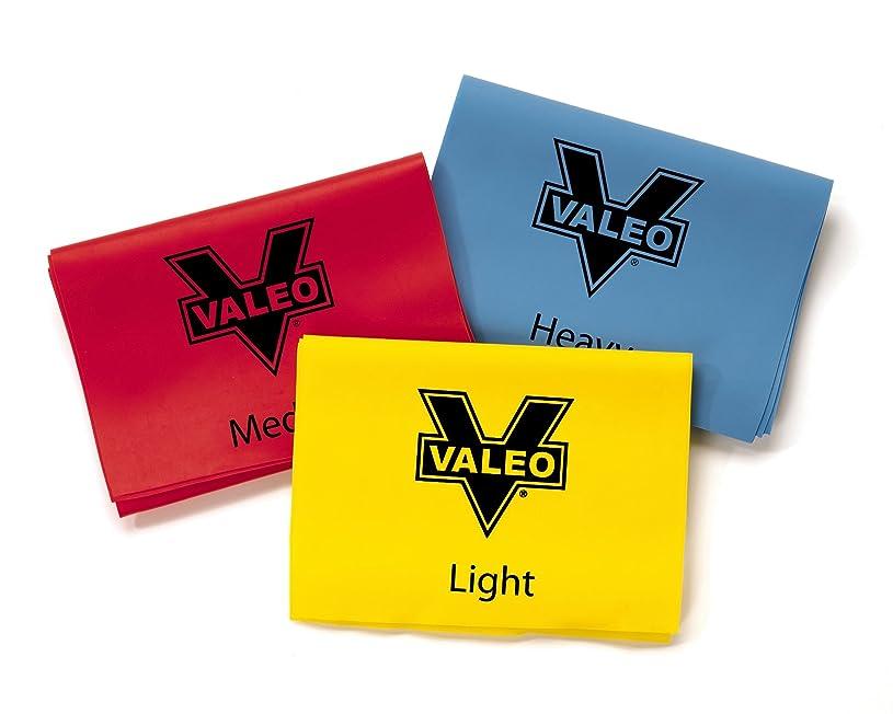 テスピアン収縮純粋にValeo Stretch Bands 3 Level VSB 4in