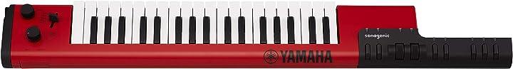 Tastiera elettronica digitale a tracolla con midi yamaha digital keyboard sonogenic shs-500rd