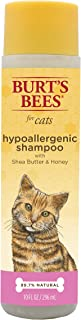 Burt's Bees for Cats Natural Hypoallergenic Shampoo with Shea Butter and Honey