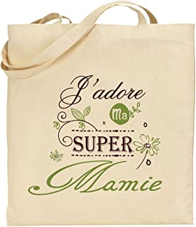 F/ête Id/ée Cadeau Anniversaire ANGORA Tote Bag Mamie Sac Shopping Grand m/ère