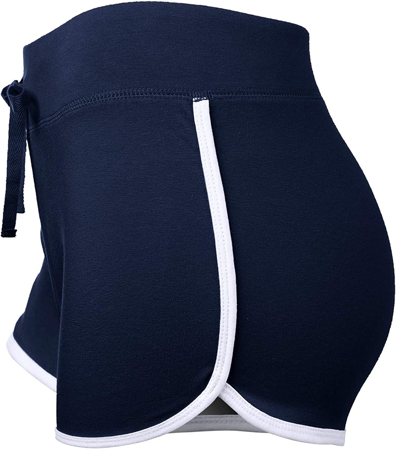 HATOPANTS Comfortable Active Fitted Stretchy Yoga Gym Mini Shorts
