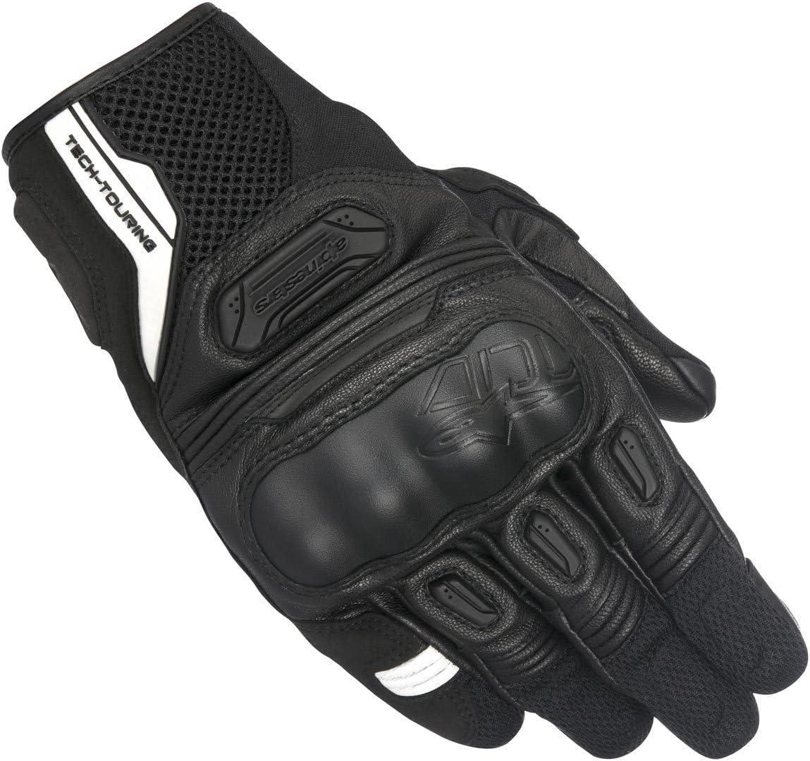 Black Medium Alpinestars Mens Highlands Motorcycle Riding Glove