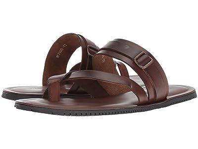 Massimo Matteo Ankle Strap Sandal (Marrone) Men