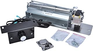 Durablow MFB007-B FK24 Replacement Fireplace Blower Fan Kit for Monessen, Vermont Castings, Majestic, Northern Flame, Temco, CFM, Rotom HB-RB65