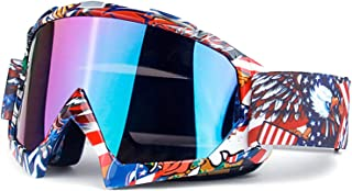 Aooaz Motorcycle Goggles For Unisex Ski Goggles Cross Country Goggles Riding Goggles