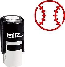 LolliZ Modern Symbol Series - Baseball Self-Inking Rubber Stamp