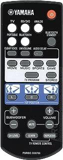 Yamaha FSR80 Sound Bar Remote Control for YSP-1400, YSP-1400BL (ZG80760)