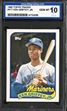 1989 TOPPS TRADED #41T KEN GRIFFEY JR ISA 10 MARINERS