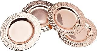 Godinger Round Coasters, Set of 4, Copper