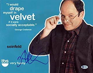 Jason Alexander Seinfeld Signed 11x14 Photo Autographed BAS #C63659 - Beckett Authentication