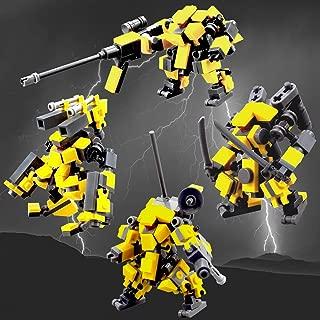 Mecha Series DIY Building Block , Seller Unique Design fit for Mobile Frame Zero Game ,Compatible with Lego Little Robot Set
