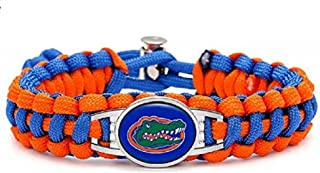 Swamp Fox Premium Style Florida Gators Football Team Adjustable Paracord Survival Bracelet