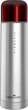 Portable Stainless Steel Vacuum Flask 16.9oz Thermos...