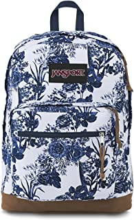 white artist rose backpack