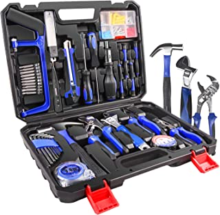 LETTON Tool Kit 100 Piece DIY Home Household Toolkits for Daily Repair and Maintenance