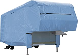 Leader Accessories Windproof Blue 5th Wheel RV Cover Fits 37'-41' Motorhome RV Outdoor Protect Camper Cover