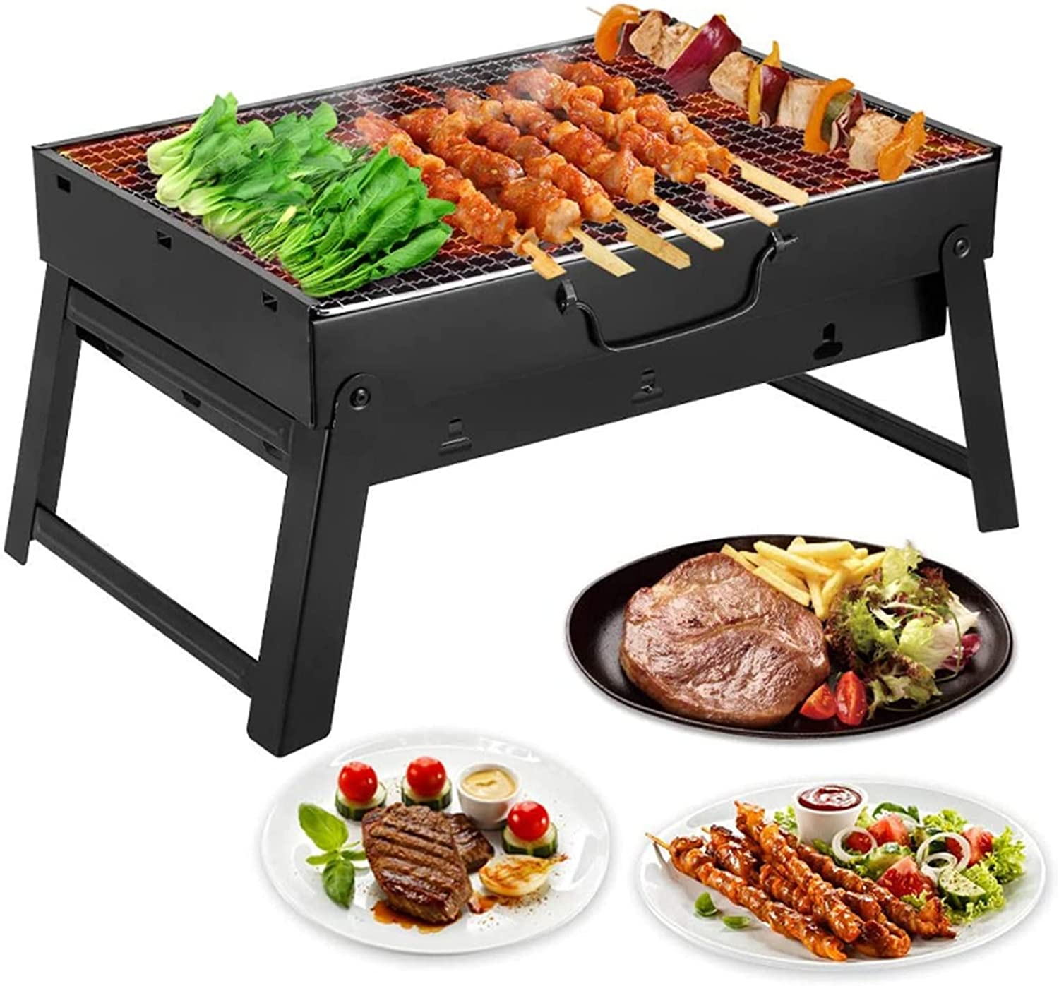 AGM Charcoal Grill Folding Lightweight Portable Long Beach Ranking TOP9 Mall Barbecue
