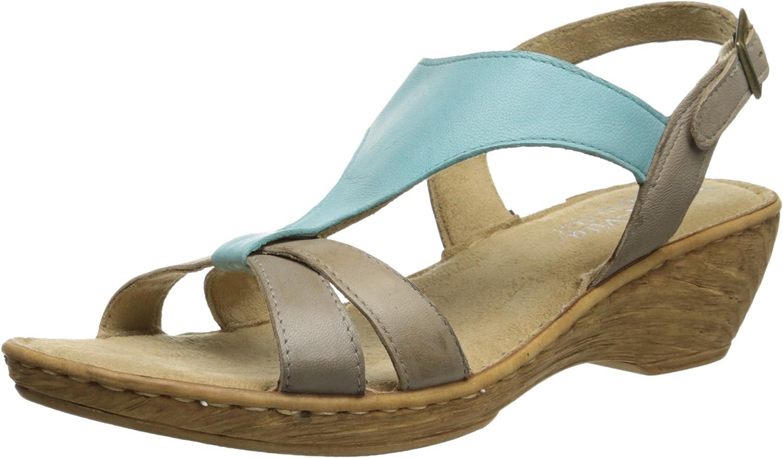 Bella Vita Made in  Woherren Grazie Wedge Sandal