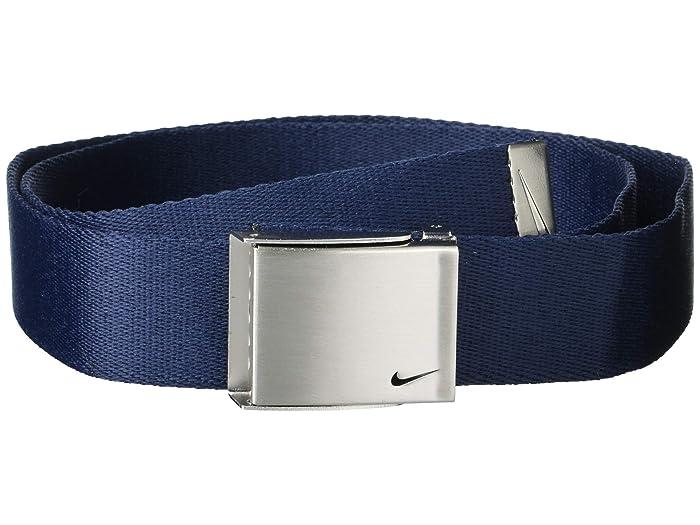 Nike  3 Web Pack (Black/Grey/Navy) Mens Belts