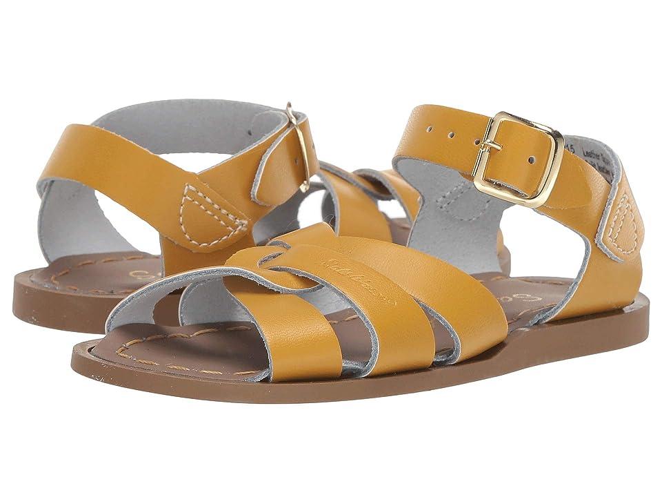 Salt Water Sandal by Hoy Shoes The Original Sandal (Infant/Toddler) (Mustard) Girls Shoes