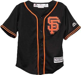 San Francisco Giants Alternate Black Cool Base Infant, Toddler & Child Jerseys