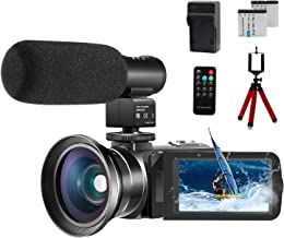 Video Camera 1080P Camcorder CofunKool 24.0MP Vlogging Camera for YouTube, 270° Flipping..