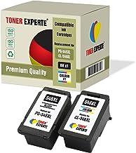 Pack de 2 XL TONER EXPERTE® Compatibles PG-545XL CL-546XL Cartuchos de Tinta para Canon Pixma MG2450 MG2550 MG2550S MG2950 MG3050 MG3051 MG3052 MX495 iP2850 TS205 TS3150 TS3151 TR4550 (Negro, Color)